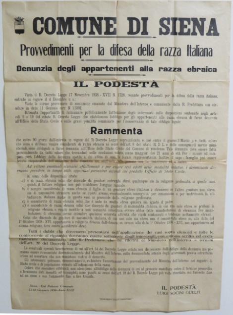 A Difficult Past - Teachers' Blog - Siena Stories - Siena School