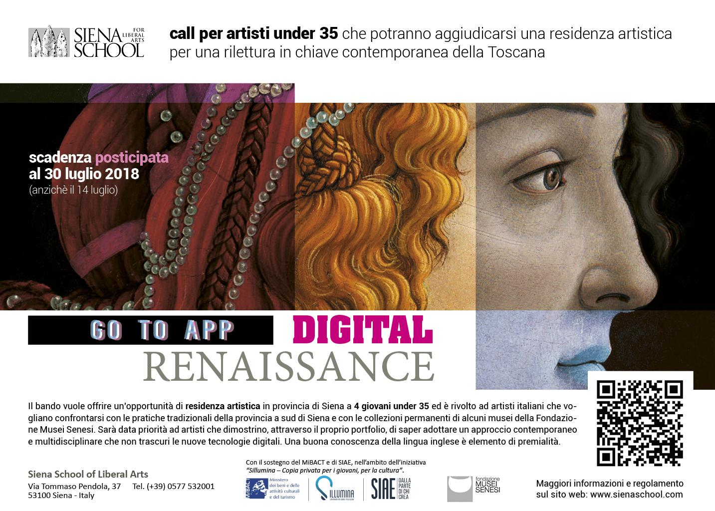 Open Call Per Giovani Artisti News Siena Stories Siena School